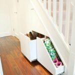 Clever Closet under stairs storage solution