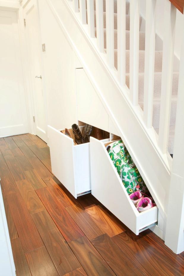 Clever Closet under stairs storage solution Fresh Design