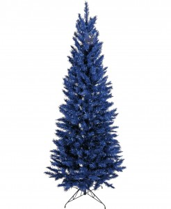 Blue alternative Christmas tree
