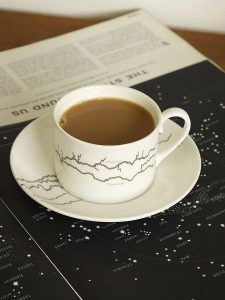Designer river cup and saucer