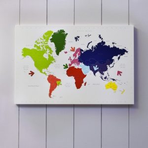 Best world map home accessories wall decor