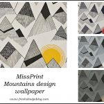 Mountains wallpaper by MissPrint