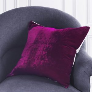 Velvet cushions from Graham and Green