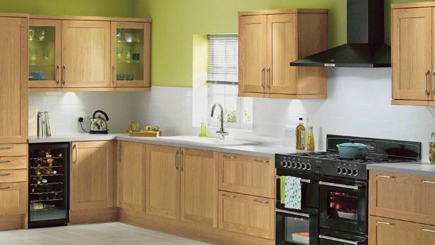 Homebase blenheim bespoke kitchen 617 348 for Kitchen ideas homebase