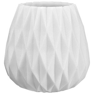 Origami vase candle holder