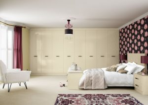 Fitted bedroom storage