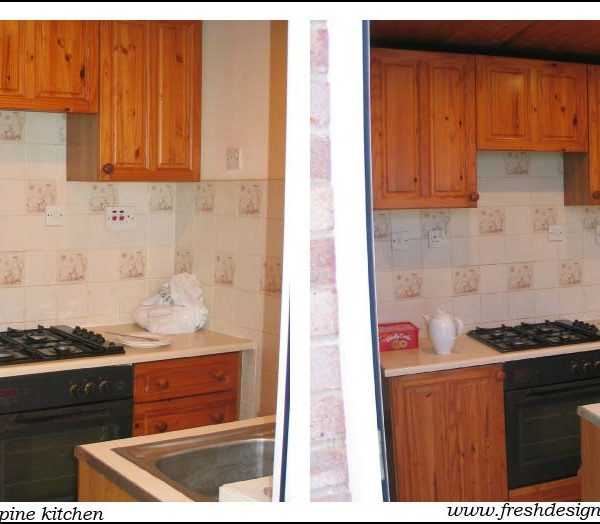 Moving house and kitchen re-design projects