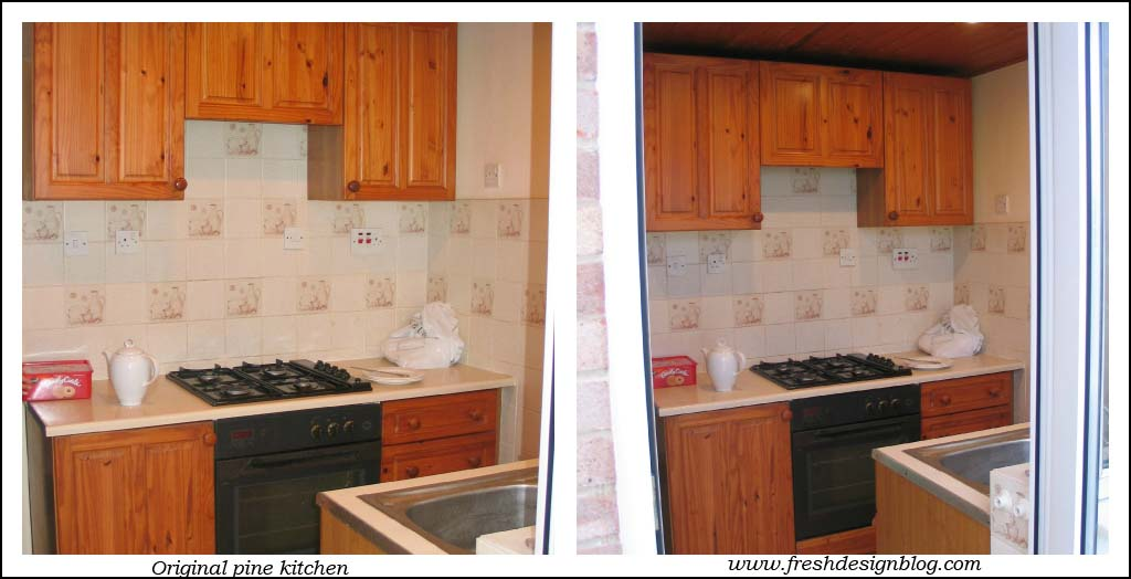 Traditional pine kitchen
