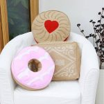 Biscuit design novelty cushions