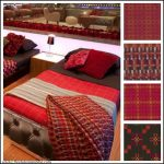 Melin Tregwynt Welsh blankets and throws in the Celebrity Big Brother bedroom
