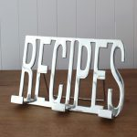 Fresh Design Kitchen: Useful chrome recipe holder stand