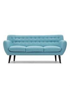 Contemporary blue sofa