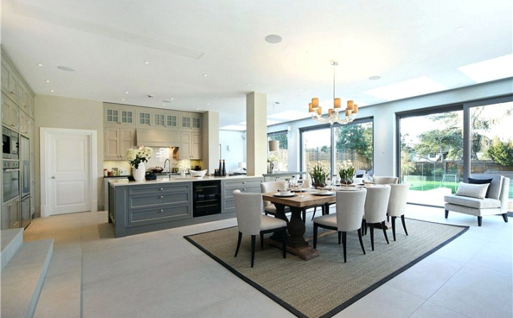 Modern kitchen interior