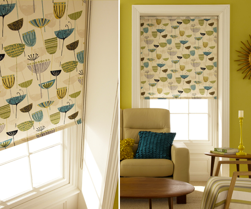 designer kitchen blinds