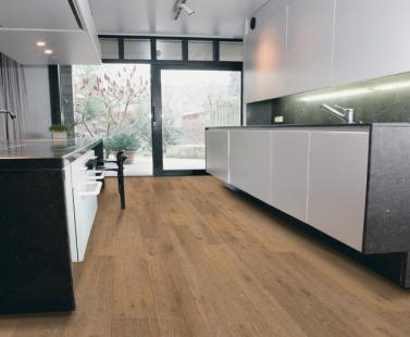 Contemporary modern vinyl floor covering