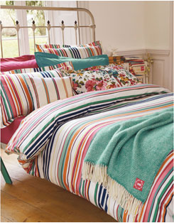 Fresh design striped bedding duvet cover