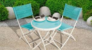 Contemporary garden bistro furniture