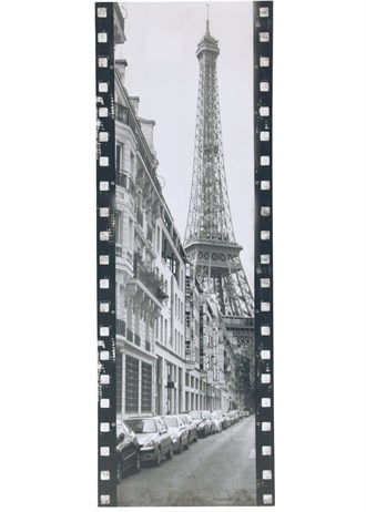 Parisian eiffel tower wall art