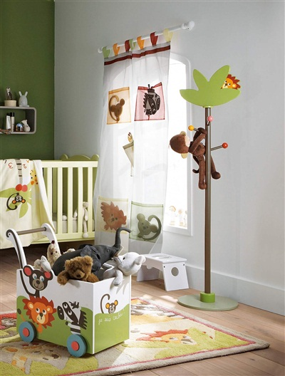 Animal theme children's bedroom ideas