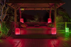 Contemporary fresh design garden light