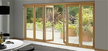 Modern patio doors