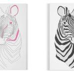 Catherine Cazalet zebra design limited edition art