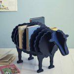 Fresh Design storage: Baa Baa black sheep book shelf