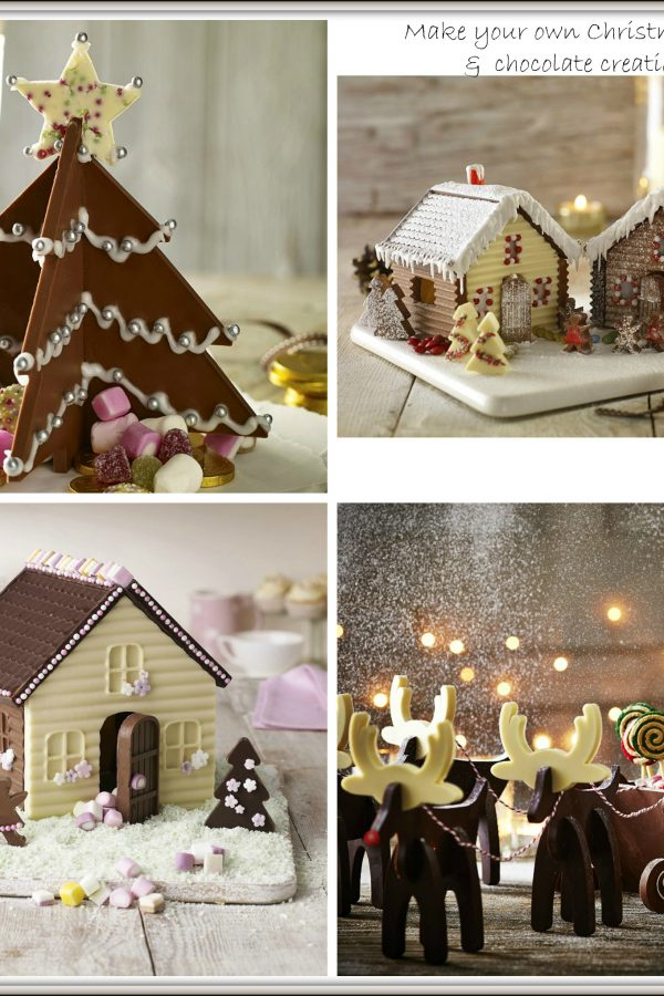 Stunning Christmas cake and chocolate moulds from Lakeland