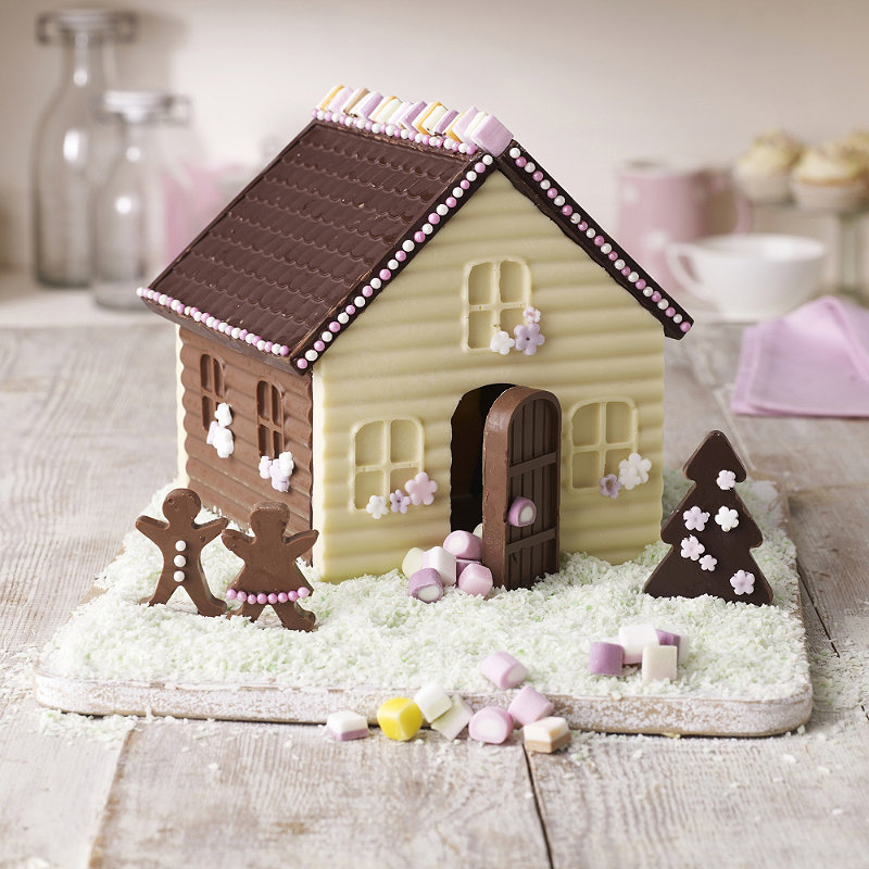 Lakeland Cake Decorating Moulds : Chocolate house Party: Chocolate Pinterest