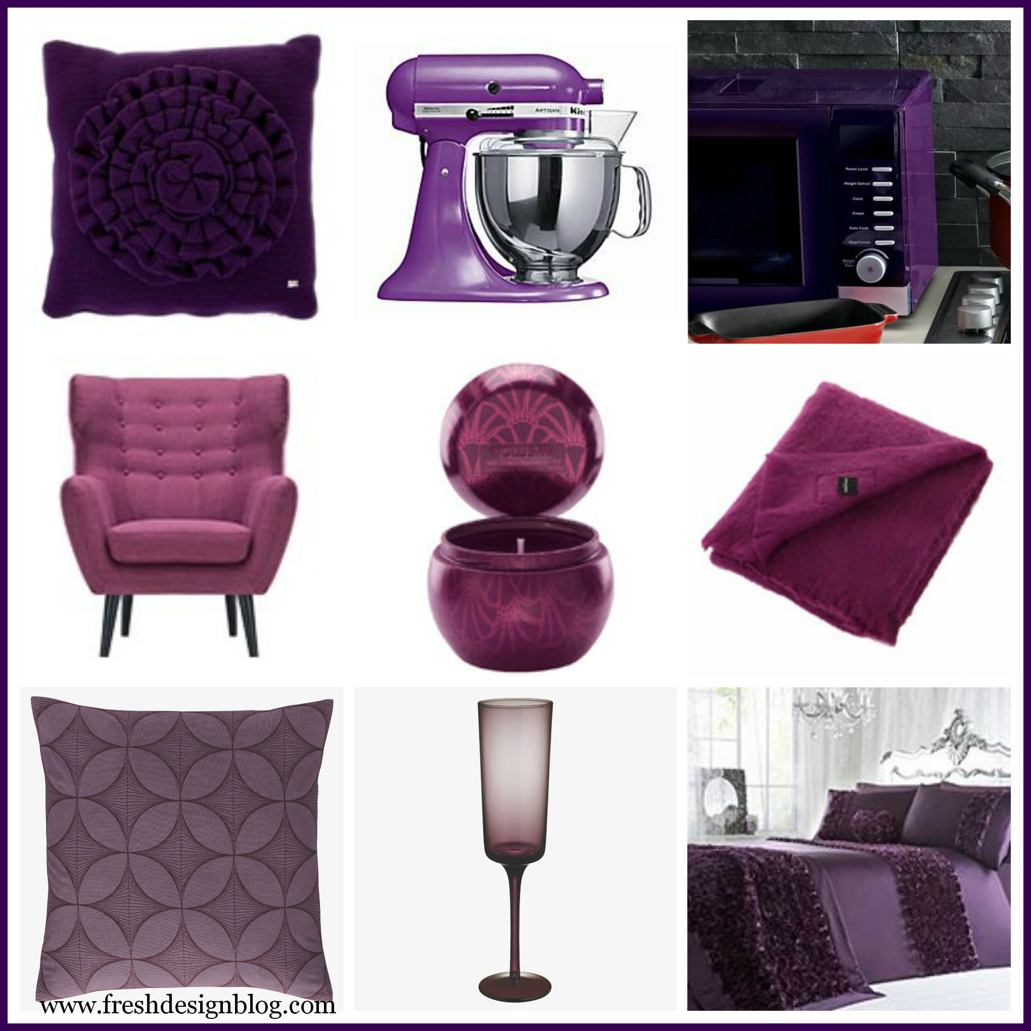 28+ [ purple home decor accessories ] | home decor in purple trend