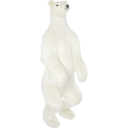 Polar bear Christmas home decor