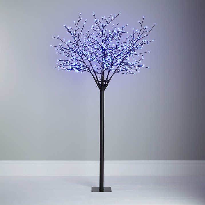 Contemporary twig xmas blossom tree