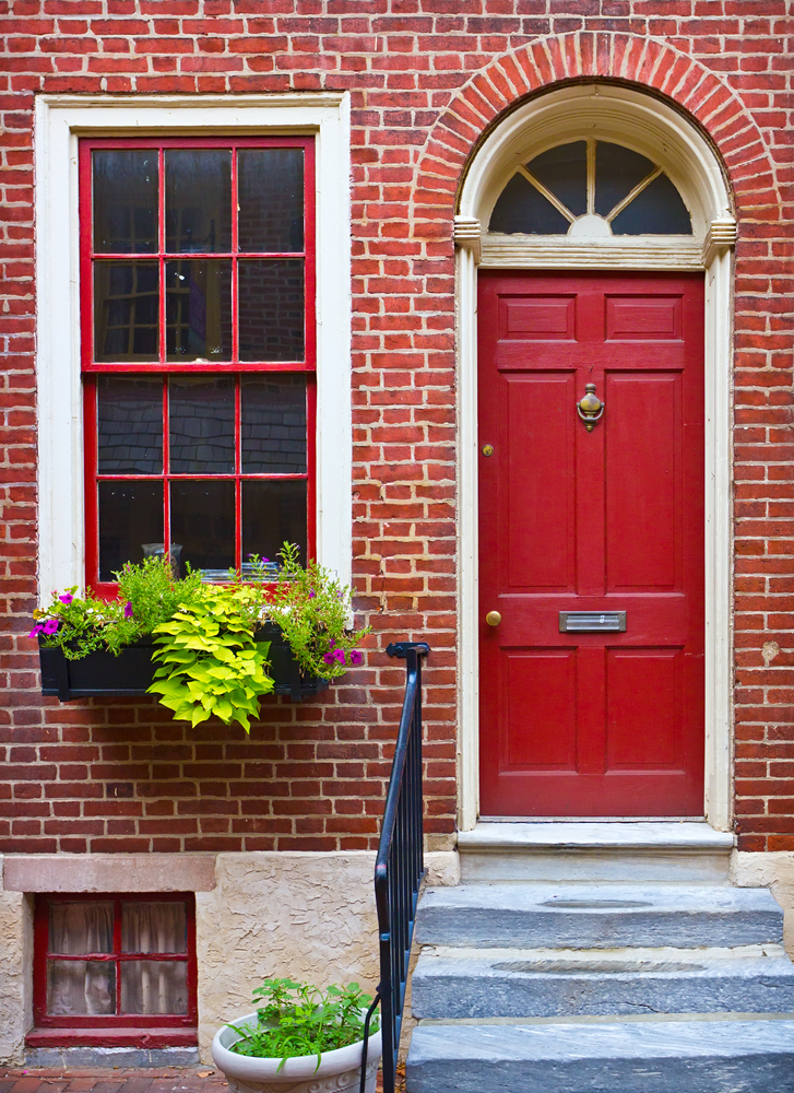 Front door colour tips