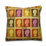Review: British stamps design cushion from Cushions Online