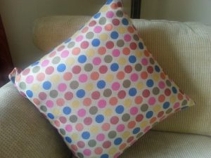 Contemporary designer cushion