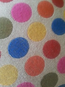 Zesty spot dot jacquard fabric