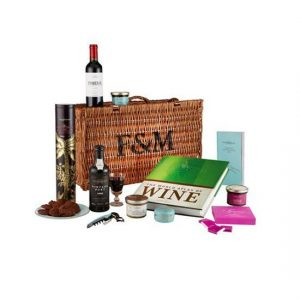 Food drink hamper for men