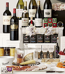 Luxury expensive Christmas gift hampers