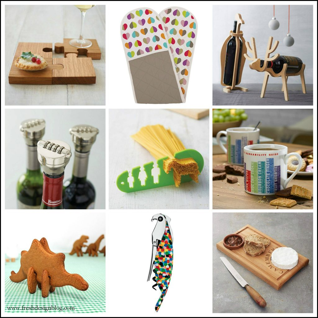 Contemporary fun and funky kitchen accessories