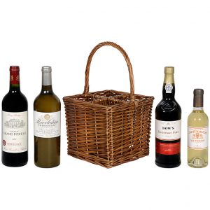 Wine basket gift