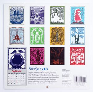 12 special designs by Rob Ryan