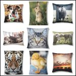 Animal magic: Photographic animal design cushions