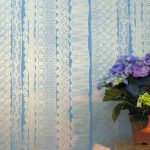 Marney's lace wallpaper by Louise Body