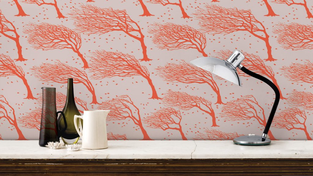 British designer wallpaper wallcovering