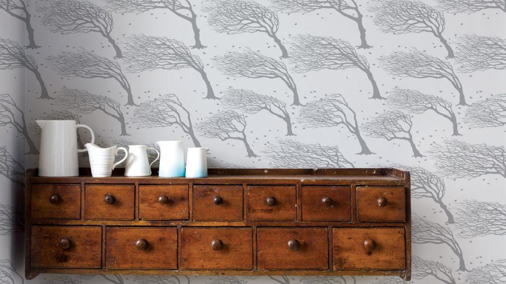 Designer British wallcovering