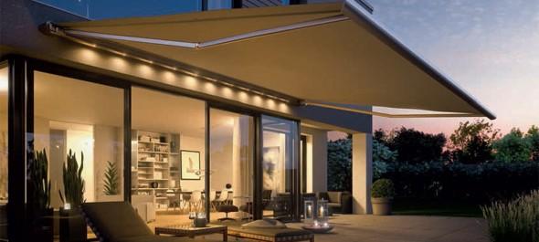 Haus high tech garden awnings