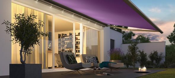 How to create garden patio shade
