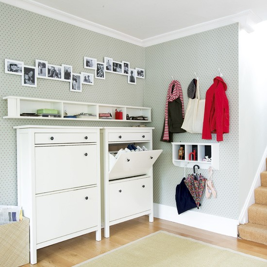 How to organise and tidy your hall