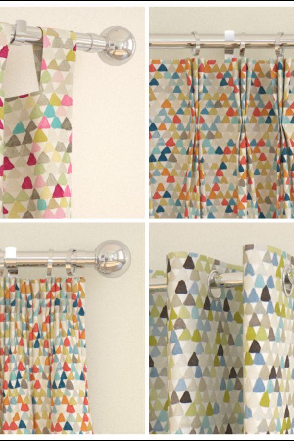 Jardin Boheme Lulu fabric and made to measure curtains