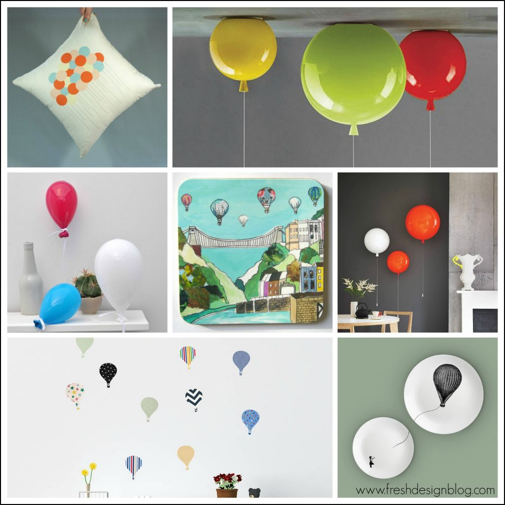 Balloon lights home accessories decor ideas from Fresh Design Blog